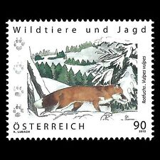 Austria 2012 - Wild Animals & Hunting Painting Art Fauna - Sc 2395 MNH
