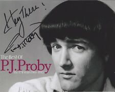 PJ Proby HAND SIGNED 8x10 Photo Autograph, Maria, Somewhere, Hold Me (G)