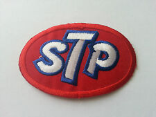 MOTOR RACING RALLY SPORT FUELS OILS SEW / IRON ON PATCH:- STP (a)