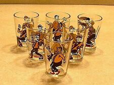 Set of 6 Vintage Art Deco Parisian Style Shot Glasses