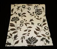 18072-10) 1 Rolle hochwertige Vinyltapete Blumen Tapete mit Glanzeffekt