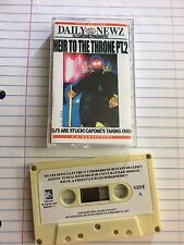 DJ Capone Heir to the Throne Pt.2 Harlem NYC Mixtape 90s Hip Hop Cassette Tape