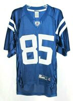 REEBOK Indianapolis Colts Pierre Garcon #85 NFL Blue Football Jersey Sz Small