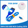 USB-OBD K+Dcan Diagnostic Cable Switched For BMW INPA DIS SSS NCS Coding ISTA AU