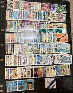Fiji  1953-1984 Mint Hinged Lot SCV $146 M/M