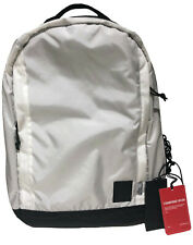 NWT THE BROWN BUFFALO CONCEAL DURABLE STORMPROOF NYLON White Backpack MSRP $295