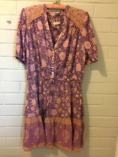 Spell & the Gypsy Love Story Playdress Royal Lilac Size XL As New Dress
