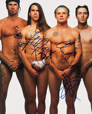 """Red Hot Chili Peppers 8""""x10"""" Autographed Color Photograph - RP"""