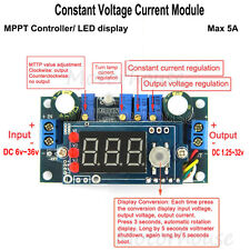 LED 5A Adjustable DC buck Step-down Constant Voltage Current Module MPPT Charger