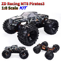 ZD Racing Camouflage MT8 Pirates3 1/8 Scale 4WD 90km/h RC Off-road Car KIT