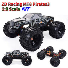 ZD Racing MT8 Pirates3 1/8 4WD 90km/h RC Off-road Car Monster Truck Frame KIT