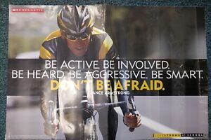 Vintage Poster Lance Armstrong Livestrong