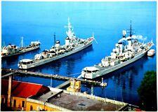 Cartolina Marina - Taranto, Stazione Torpediniere - Non Viaggiata