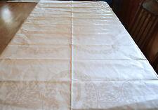 "New Vintage IRISH LINEN Double Damask Tablecloth 70"" x 72"" & Napkins NOS"
