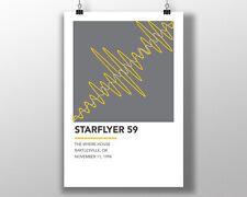 Starflyer 59 - Live 94 Minimal Art SF59 Poster Shoegaze Vinyl slowdive MBV ride