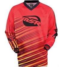 NOS MSR 351286 M13 AXXIS JERSEY RED YELLOW SIZE MENS LARGE
