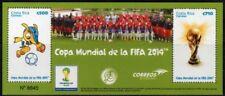 Timbres de l'Amérique latine neuf sans trace de charnière sur football