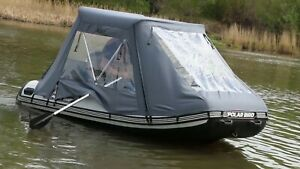 Polar Bird Schlauchboot für Motor mit Zelt 3.20 - 3.85m Motorboot mit Kiel Profi