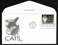 #2375 22c Cats -American Shorthair & Persian Cachet - Artmaster Fdc