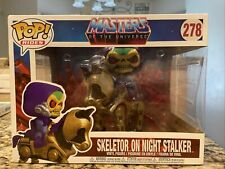 IN-HAND Masters of the Universe Skeletor with Night Stalker Pop! 278 He-Man