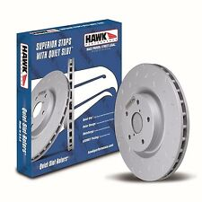 Disc Brake Rotor-Quiet Slot Rotor(TM) Front Hawk Perf HUS627