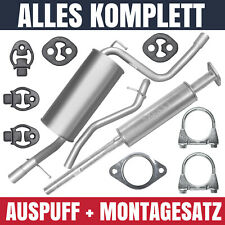 Auspuffanlage Schalldämpferset Auspuff Ford Focus II 2 MK2 1.4 1.6 Schrägheck
