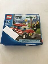 Lego 60001 City Fire Chief Car Brand New with Damaged Box