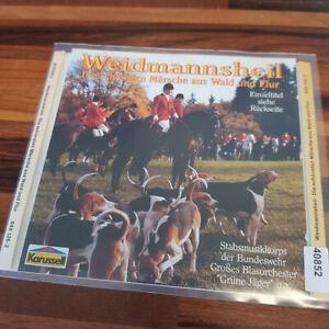 VARIOUS: Weidmannsheil - Die schönsten Märsche Aus Wald Und Flur > EX (CD)