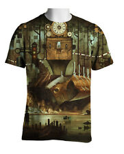 steampunk t-shirt all over print size s to 2xl