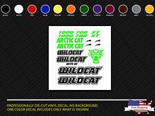 Arctic Cat Wildcat Decals Hood Fender Door Graphic Kit 1000 700 1000X Graphics