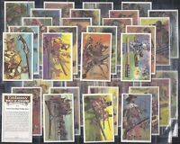 WILLS EMBASSY-FULL SET- WORLD OF FIREARMS (M36 CARDS) - EXC+++