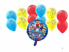 Paw Patrol Foil and Latex Balloon Set (13 pieces) Birthday Party Decoration