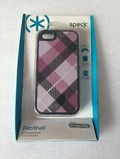 Speck SPK A0762 FabShell Fabric Case for iPhone 5 5s Mulberry Black