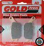 GOLDFREN REAR BRAKE PADS for: HONDA FIRESTORM VTR 1000 (97-06) VTR1000