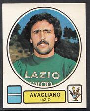 PANINI CALCIATORI FOOTBALL Adesivo 1977-78, N. 173-LAZIO-AVAGLIANO