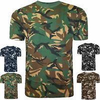 Enfants Camouflage T Shirt Armée Militaire Combat pêche chasse TOP GILET 3-14 Ans