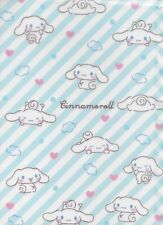 Sanrio Cinnamoroll Portfolio Folder Clouds Hearts