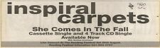 7/7/90 Pgn57 Advert: she Comes In The Fall Single By Inspiral Carpets 3x11