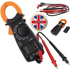 AC DC Volt Multi-meter Digital Clamp Voltage Amp Ohm Electronic Tester Meter UK