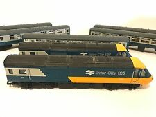 VINTAGE HORNBY 00/HO SCALE INTER-CITY 125 TRAIN SET 2 ENGINES* 5 PASSENGER