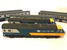 VINTAGE HORNBY 00/HO SCALE INTER-CITY 125 TRAIN SET 2 ENGINES* 5 PASSENGER