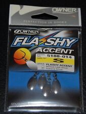 Owner Flashy Accents - Flashy Indiana Blade Small #0 Pack of 4 5188-014