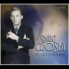 It's Easy to Remember [Box] by Bing Crosby (CD, Apr-2002, 4 Discs, Proper Record