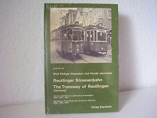Das Buch zur Reutlinger Straßenbahn Sonderaktion!!
