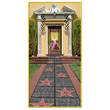 "Hollywood WALK of FAME ""STAR"" FLOOR RUNNER Party Decoration AWARD TALENT NIGHT"