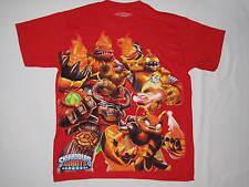 NWOT SKYLANDERS GIANTS T shirt BOY size XL 14-16 red