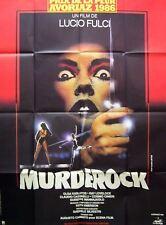 MURDEROCK - Lucio Fulci - 47x63 FRENCH POSTER