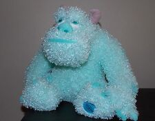 "SULLEY Monsters Inc Plush 11""  Ice Blue Disney Store  Pixar Sully  EUC"