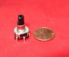 ALPS Electric 30 Detent Rotary Encoder, 5VDC, EC12, 15 Pulse. Switch 5V DC, AJ