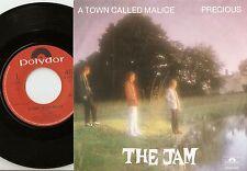 THE JAM TOWN CALLED MALICE & PRECIOUS DUTCH 45+PS 1982 MOD REVIVAL PAUL WELLER